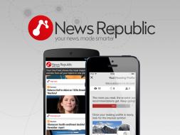 La aplicación de noticias News Republic® introduce innovadoras